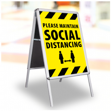 Please Maintain Social Distance